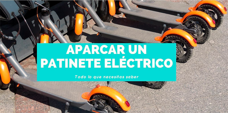 aparca patinete electrico